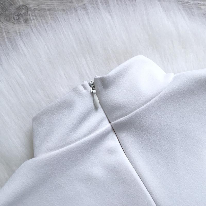 Платье с чекером - Фото 5