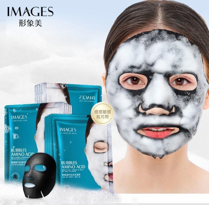 Очищающая тканевая кислородная маска для лица images