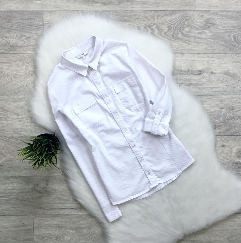 Рубашка в рубчик