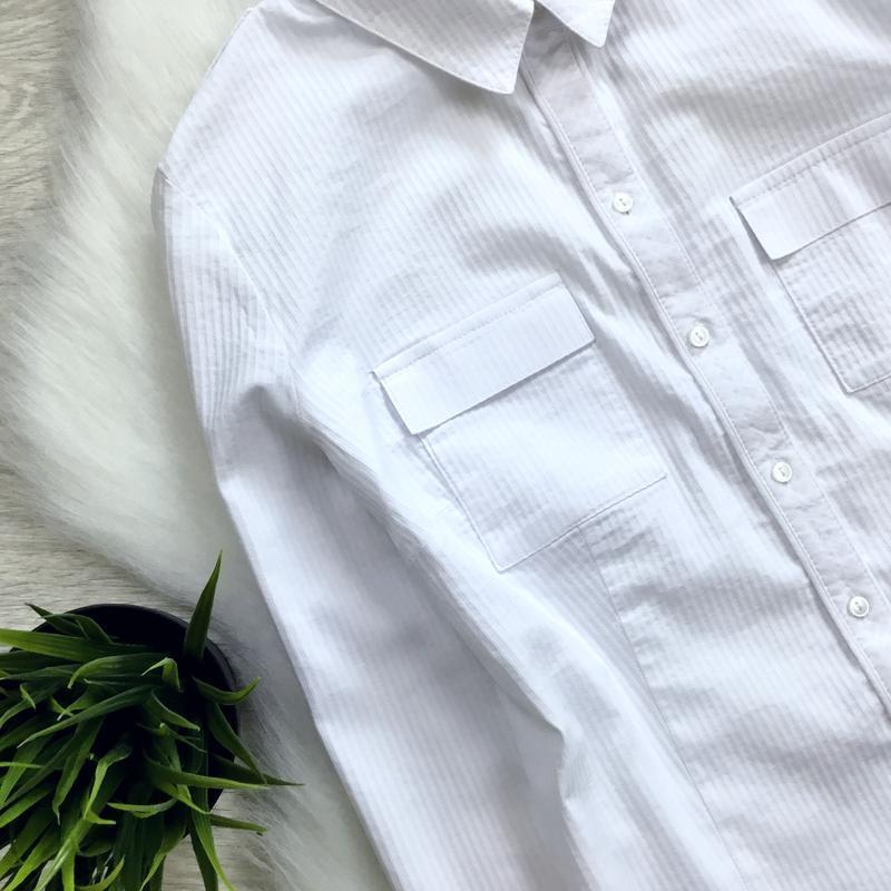 Рубашка в рубчик - Фото 2