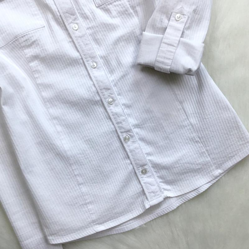 Рубашка в рубчик - Фото 4