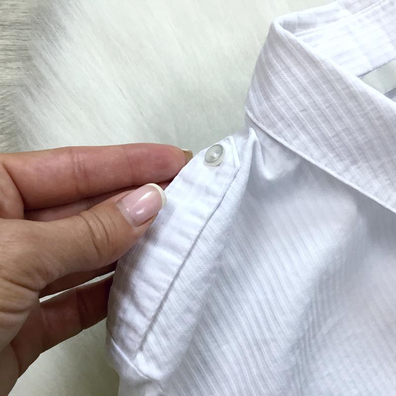 Рубашка в рубчик - Фото 5