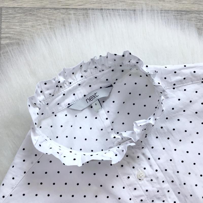 Рубашка в горошек - Фото 2