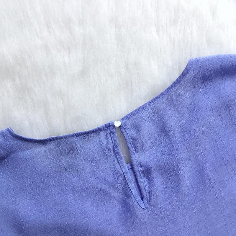 Блуза на запах - Фото 2