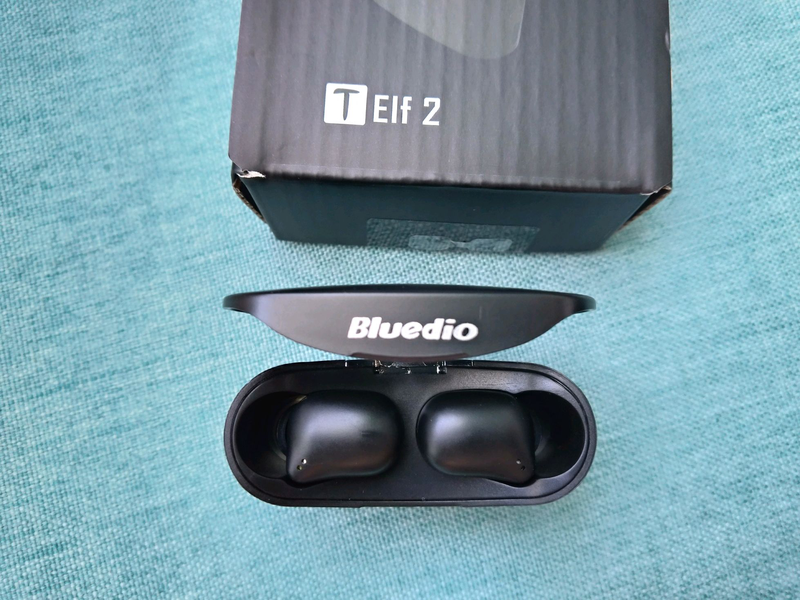 Гарнитура Bluedio T-Elfe 2 TWS наушники, Bluetooth 5.0, НОВЫЕ - Фото 5