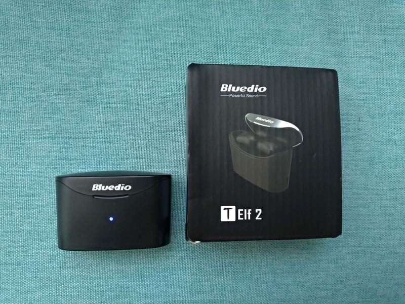 Гарнитура Bluedio T-Elfe 2 TWS наушники, Bluetooth 5.0, НОВЫЕ - Фото 3