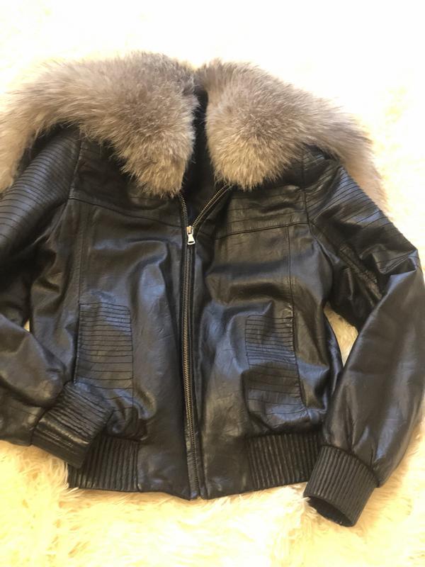 Куртка чернобурка