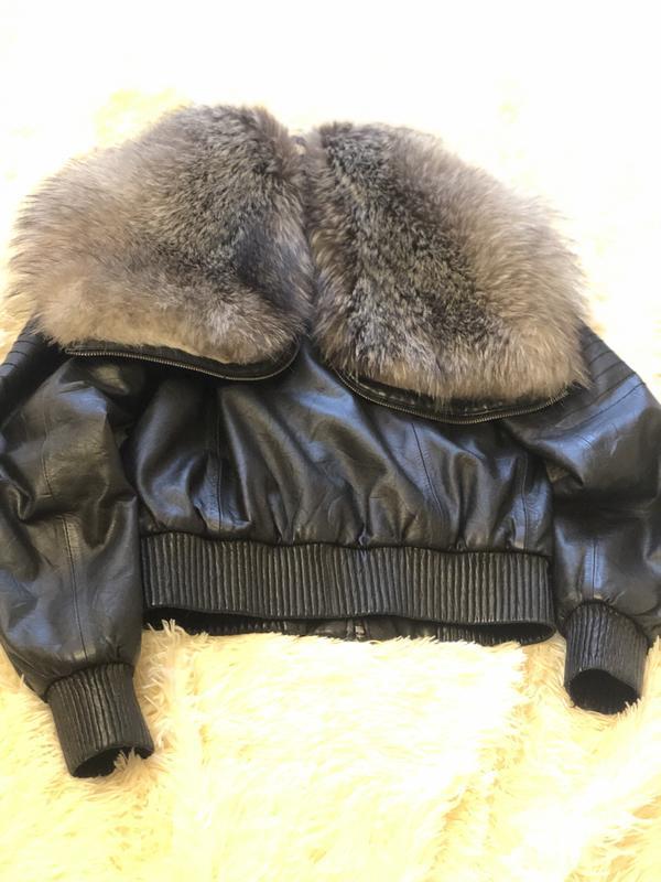 Куртка чернобурка - Фото 3