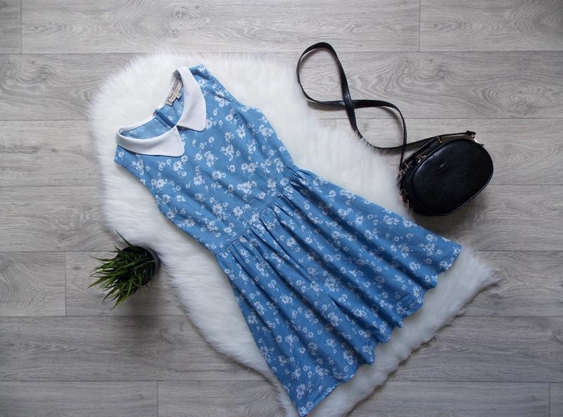 Платье джинсовое (облегченный деним)