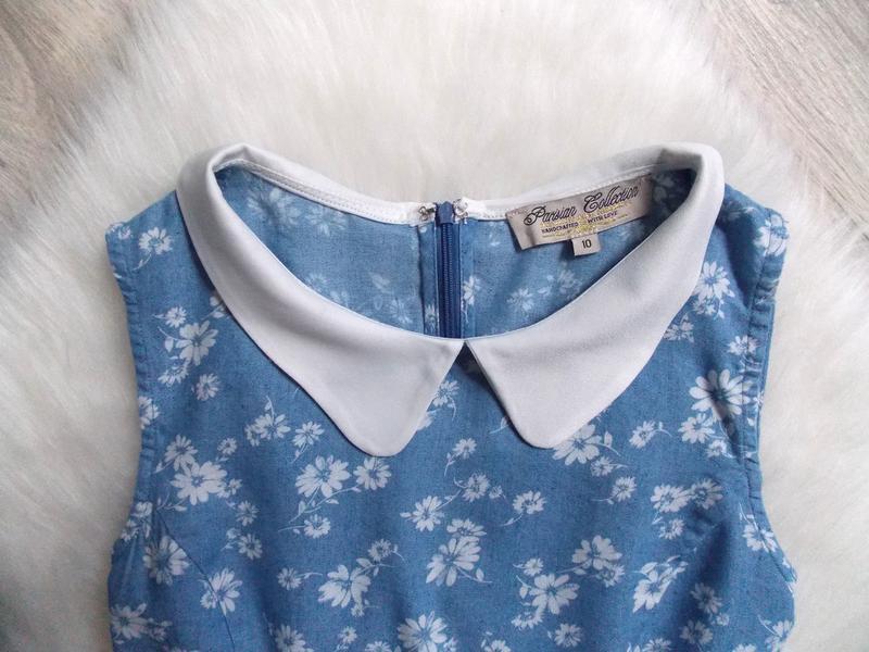 Платье джинсовое (облегченный деним) - Фото 4