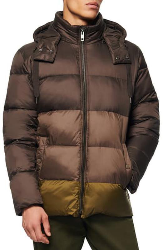 Marc new york by andrew marc мужской пуховик куртка оливковый ...