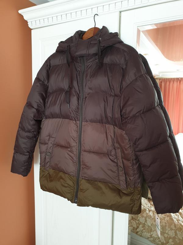 Marc new york by andrew marc мужской пуховик куртка оливковый ... - Фото 2