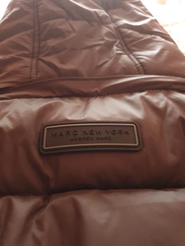 Marc new york by andrew marc мужской пуховик куртка оливковый ... - Фото 10