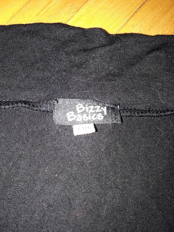 Болеро чорне, кофта, футболка bizzy basics - Фото 2