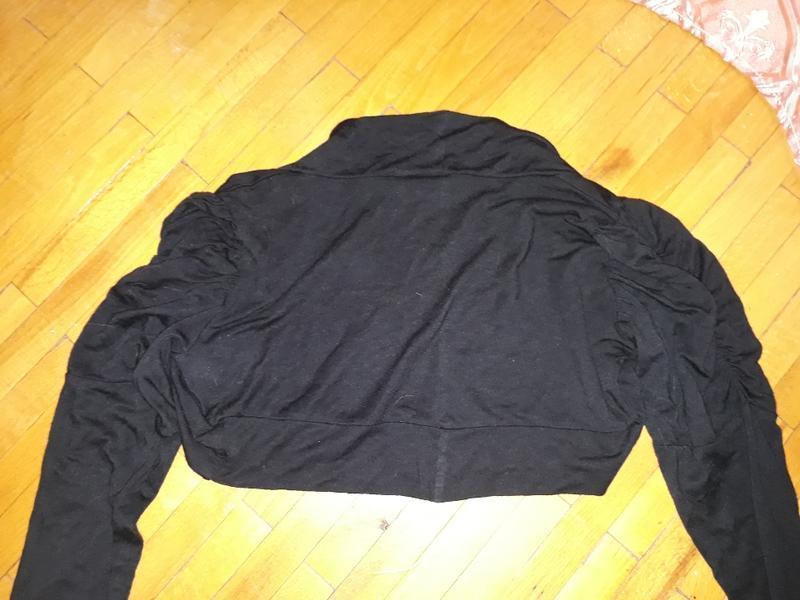 Болеро чорне, кофта, футболка bizzy basics - Фото 5