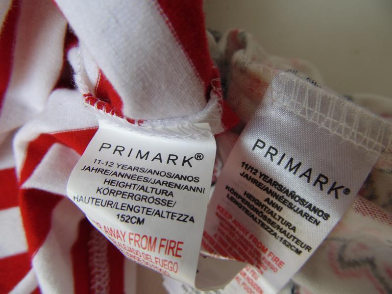 Пижама 11-12 лет 152 см primark англия - Фото 3