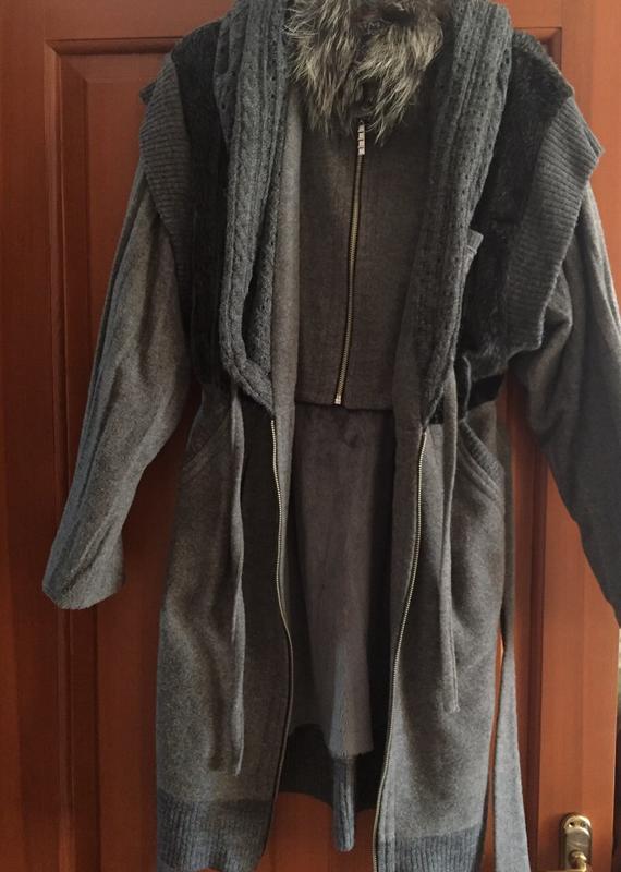 Пальто демисезонное - Фото 3