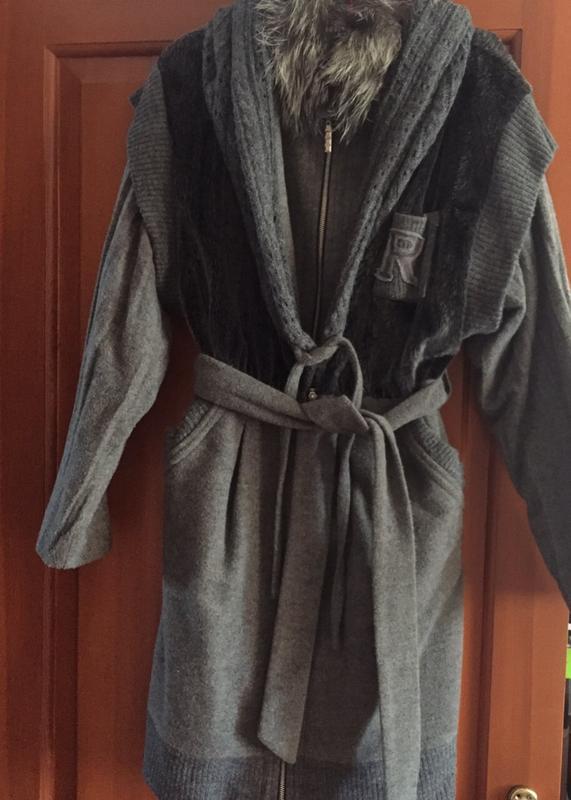 Пальто демисезонное - Фото 4