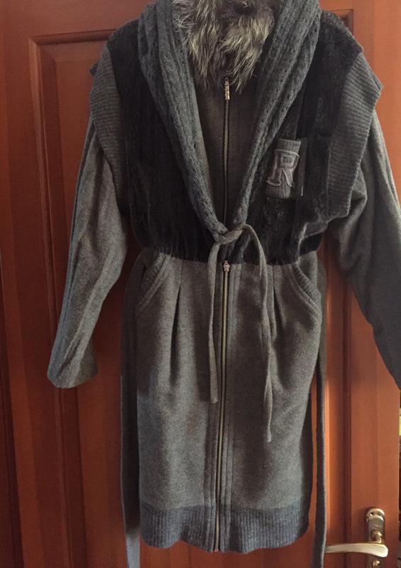 Пальто демисезонное - Фото 5