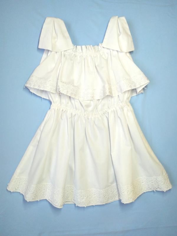 Стильное дизайнерское платье для девочек 01g19s03w - Фото 2
