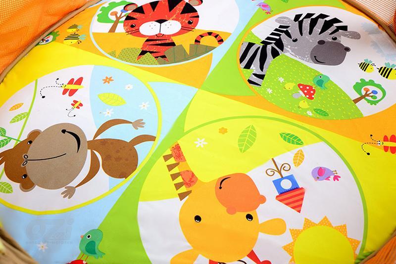 Детский развивающий коврик Львененок марки Kindereo - Фото 4