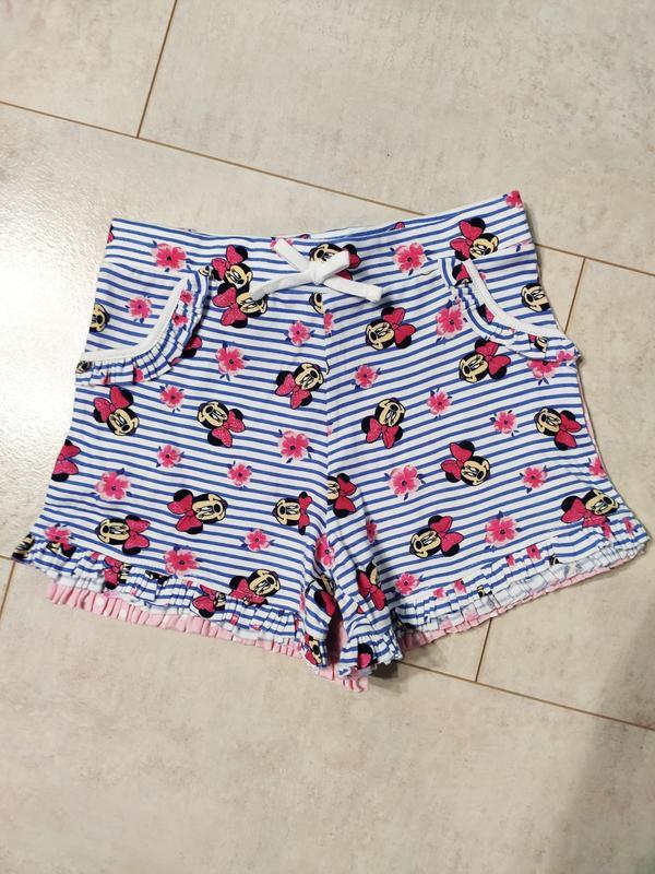 Набор шортиков на девочку, 2 штуки в наборе, шорты хлопок от д...
