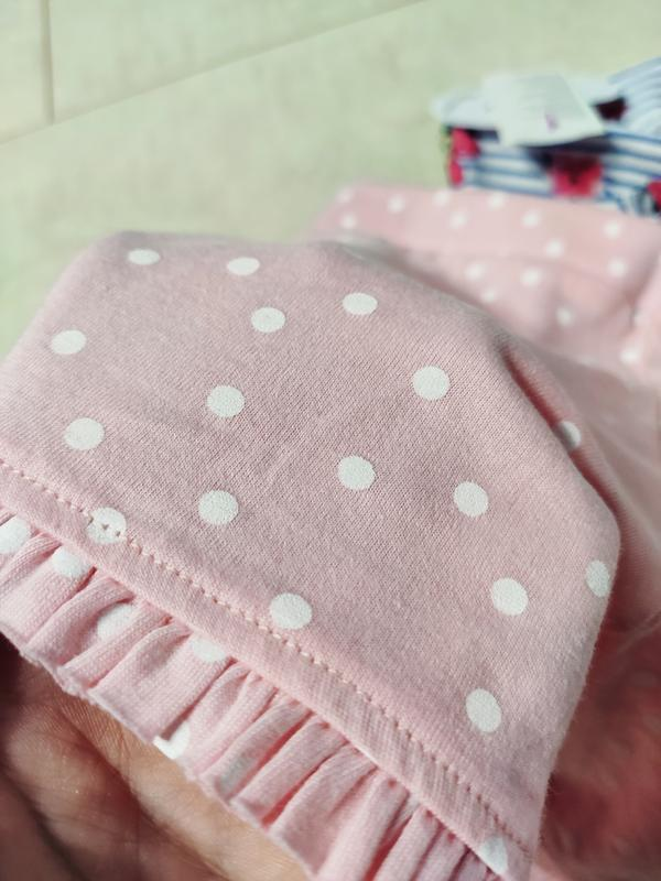 Набор шортиков на девочку, 2 штуки в наборе, шорты хлопок от д... - Фото 5
