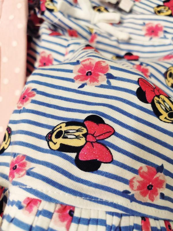 Набор шортиков на девочку, 2 штуки в наборе, шорты хлопок от д... - Фото 6