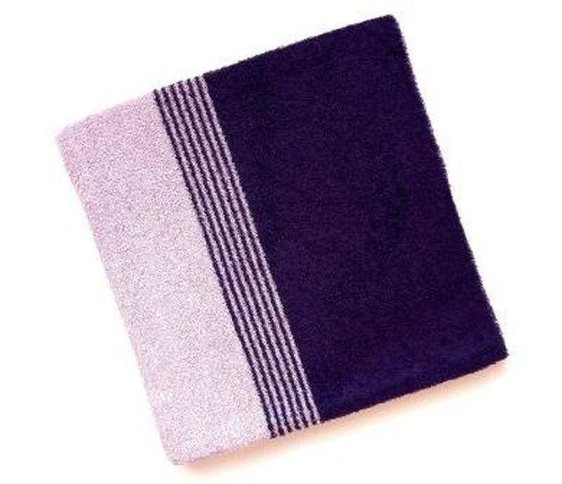 Полотенце лицевое махровое 100*50 сиреневый