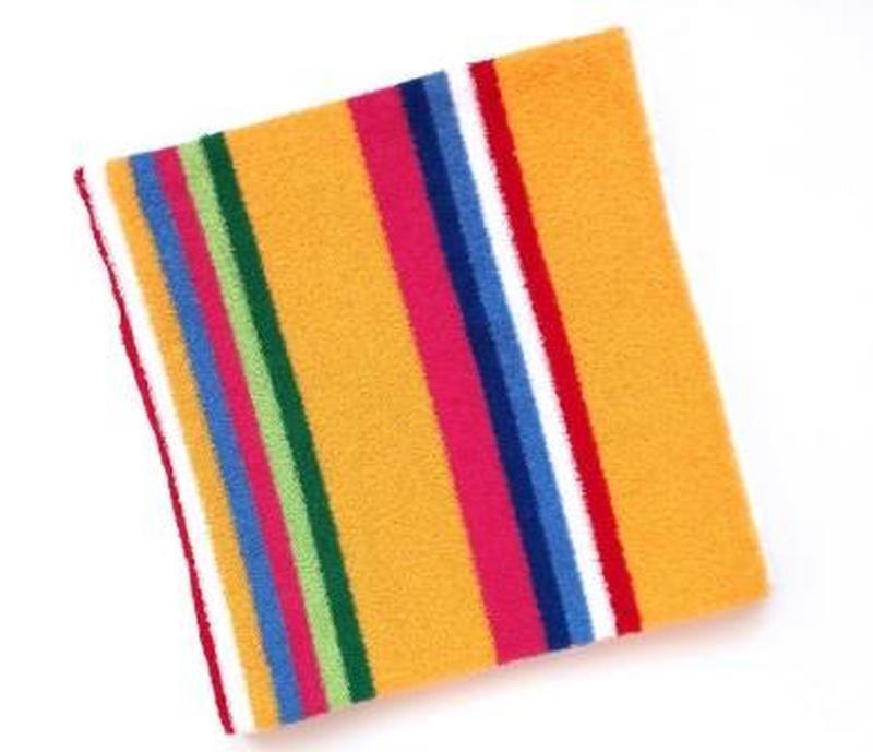 Махровое полотенце 100*50 желтый
