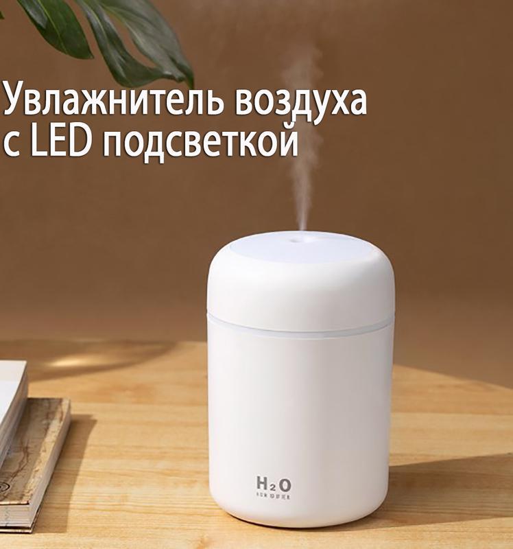 Увлажнитель воздуха мини Adna Humidifier DQ107 Белый - Фото 9