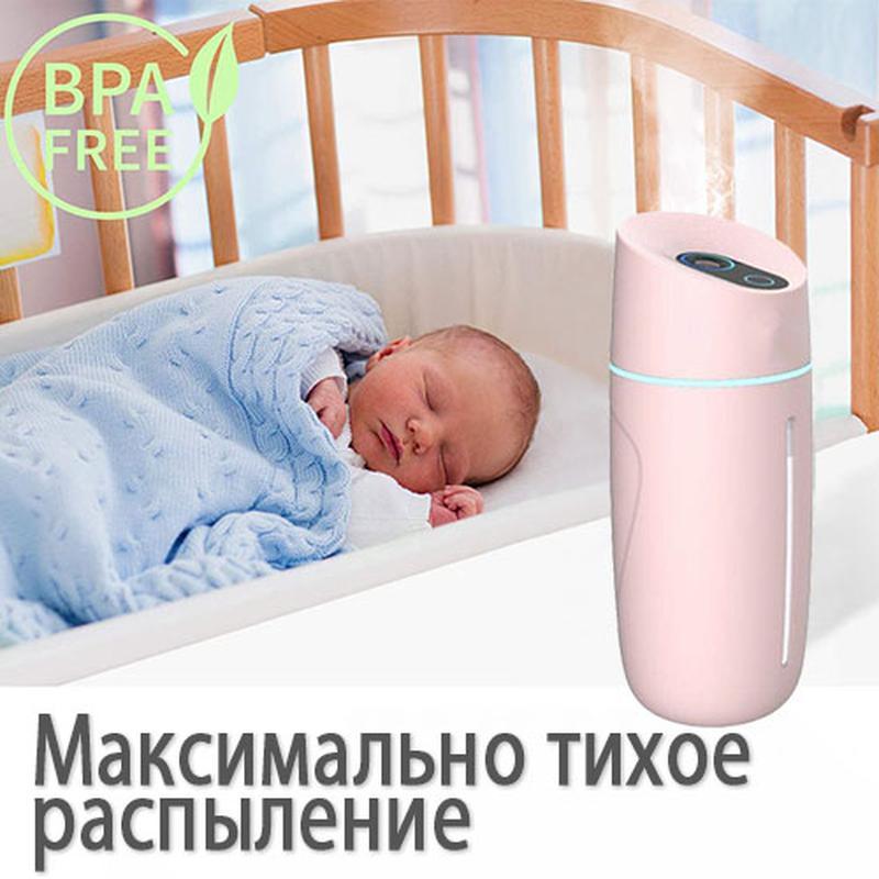 Увлажнитель воздуха портативный Adna Humidifier Q1 розовый - Фото 7