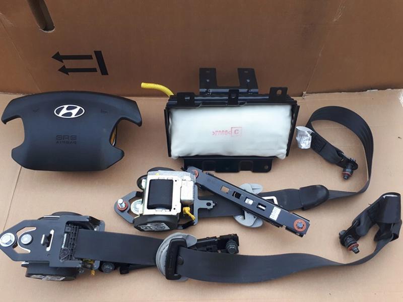 Подушки безопасности в руль и панель на Hyundai Sonata NF 2005-