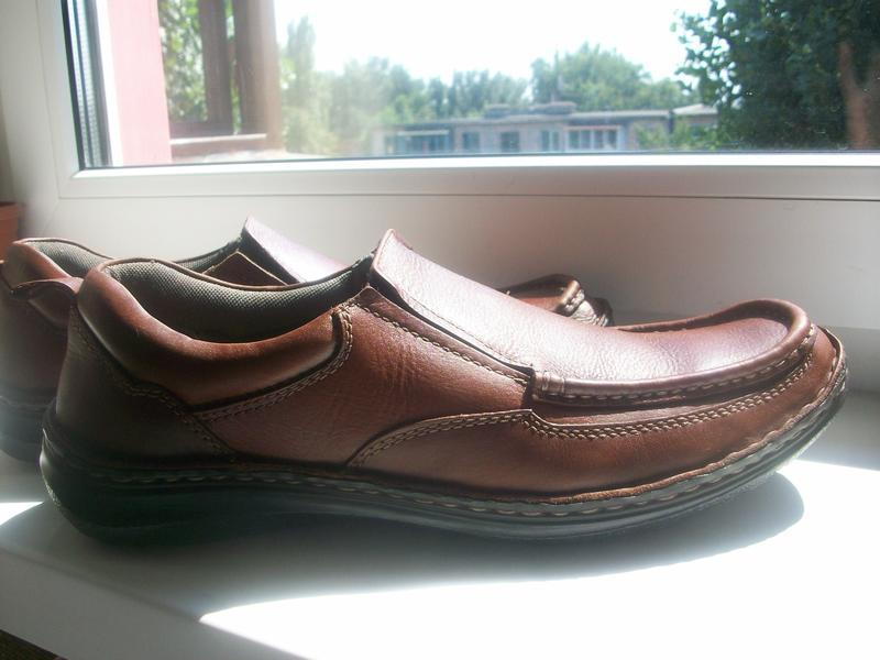 Туфли-мокасины мужские натуральная кожа pavers р.44