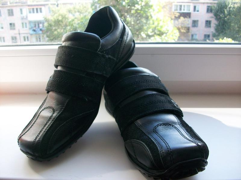 Туфли кроссовки мужские, натуральная кожа red tape р.42