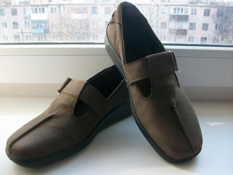 Туфли натуральная кожа hotter р.39