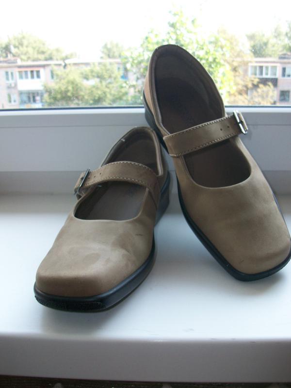 Туфли женские натуральная кожа (нубук) hotter р.38.5