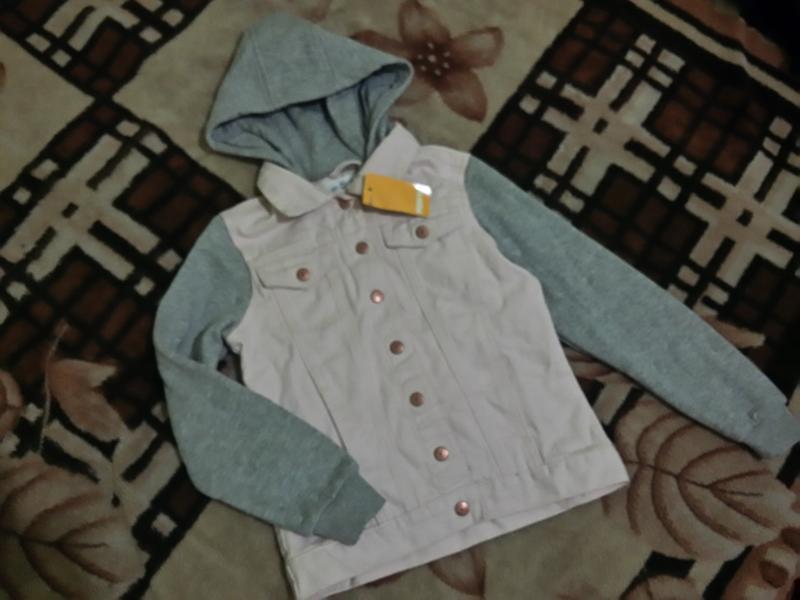 Джинсовая куртка на 9-10 лет , пиджак , стильный модный пиджач...