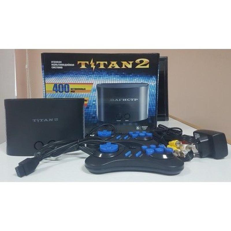 Игровая приставка Титан 2 400 игр Titan 2 Sega Mega Сега Денди... - Фото 2