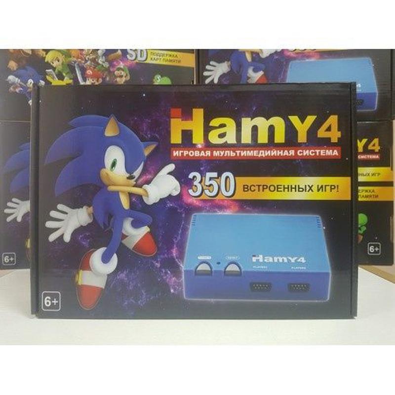 НОВАЯ игровая приставка Hamy4 350 игр Dendy 8 bit Sega 16 bit ... - Фото 2