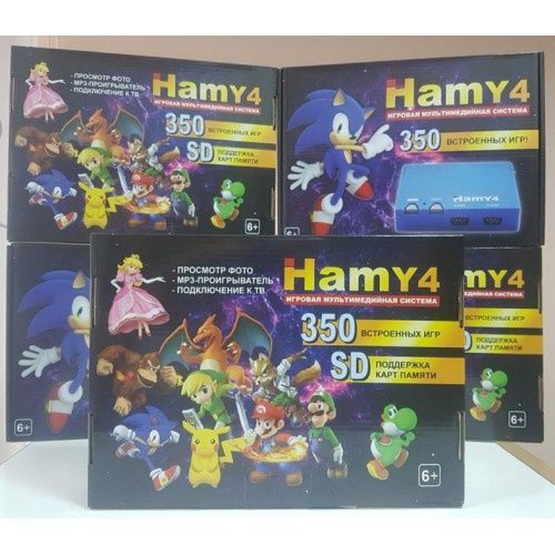 НОВАЯ игровая приставка Hamy4 350 игр Dendy 8 bit Sega 16 bit ... - Фото 3