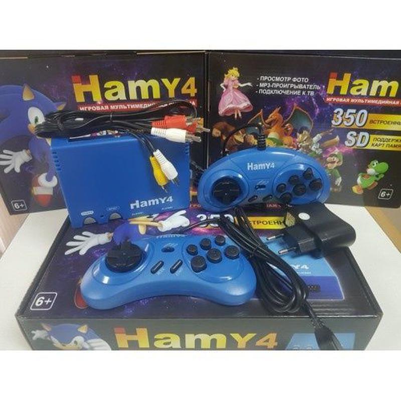 НОВАЯ игровая приставка Hamy4 350 игр Dendy 8 bit Sega 16 bit ... - Фото 4