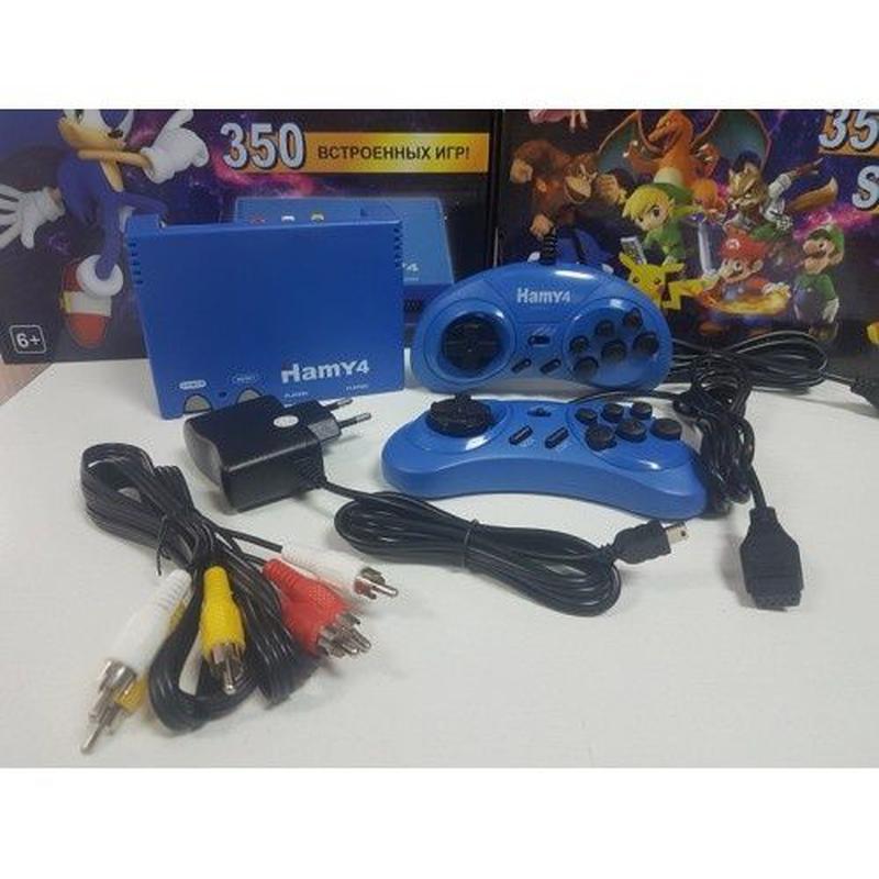 НОВАЯ игровая приставка Hamy4 350 игр Dendy 8 bit Sega 16 bit ... - Фото 5