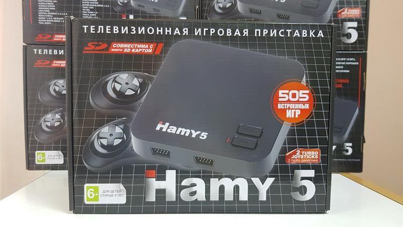 НОВАЯ приставка Денди+Сега 505 игр HAMY5 Dendy+Sega картридж Г...