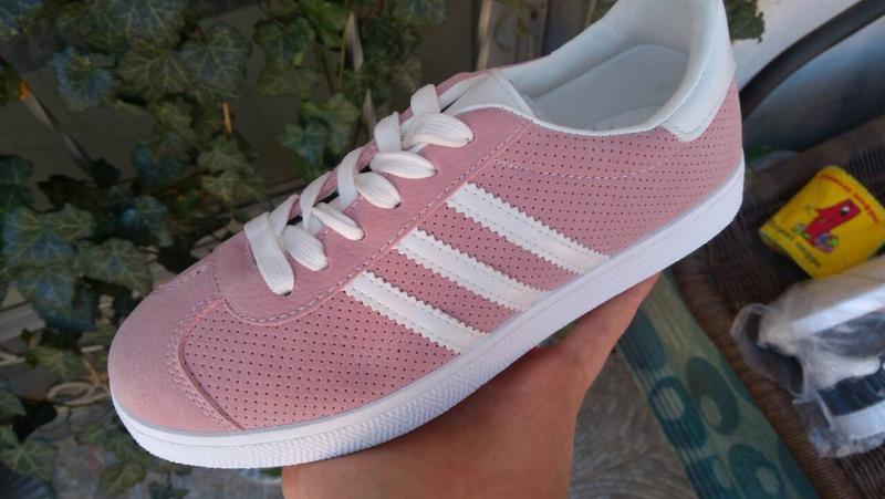 Sale 36-41рр женские кроссовки розовые кеды - Фото 2