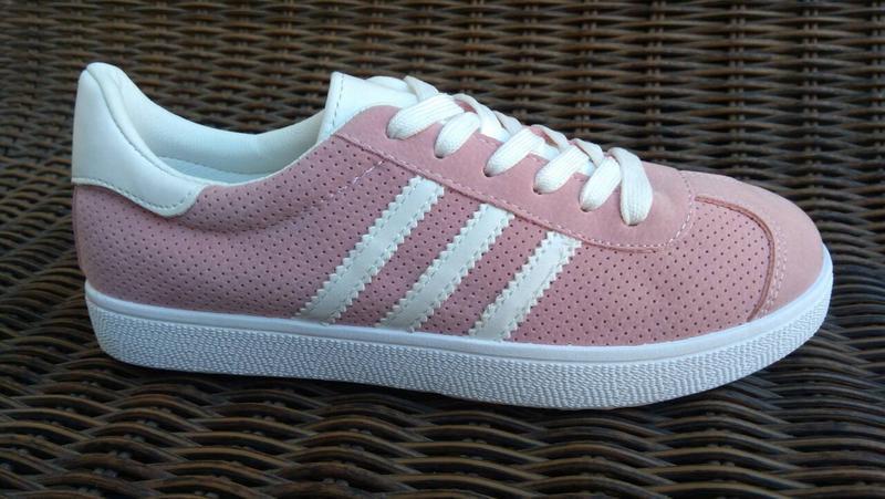 Sale 36-41рр женские кроссовки розовые кеды - Фото 3