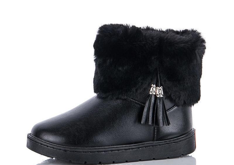 36р 37р 38р черные эко кожаные угги уги женские сапоги ботинки...