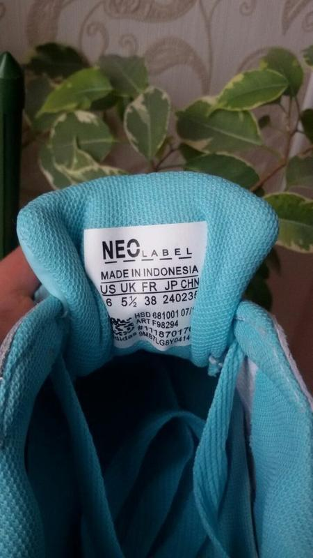 Sale! мятные женские кроссовки - Фото 3