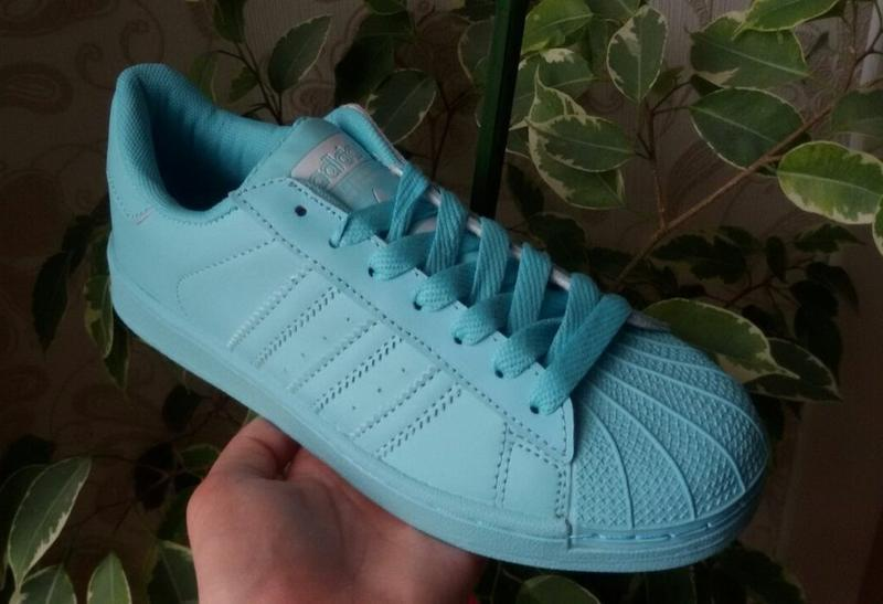Sale! мятные женские кроссовки - Фото 4