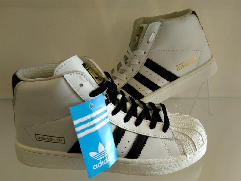 Высокие белые кроссовки ботинки 37 - Фото 5